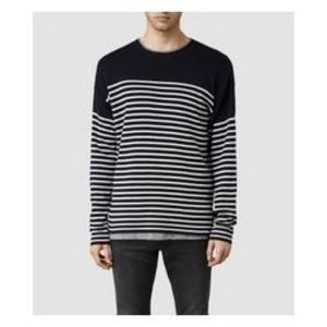 AllSaints Wool Blend Gallo Crew